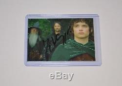 VIGGO MORTENSEN Autograph LORD of the RINGS Trilogy #P1 CHROME CARD SIGNED