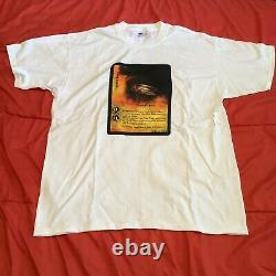 Vintage Lord of the Rings DS Trading Card Game T Shirt Size XL The One Ring LOTR